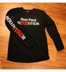 R2012UTION Black Long Sleeve Tee