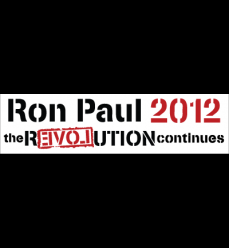 Ron Paul 2012 - the rEVOLution continues